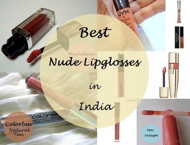 Die 10 besten Nackt lipglosses für indische Hauttöne: Messe / mittel / dunkel