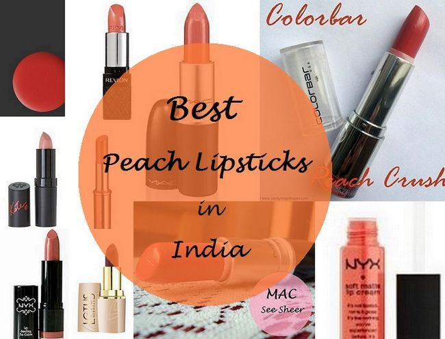 Die 10 besten Pfirsich Lippenstifte für indische Haut