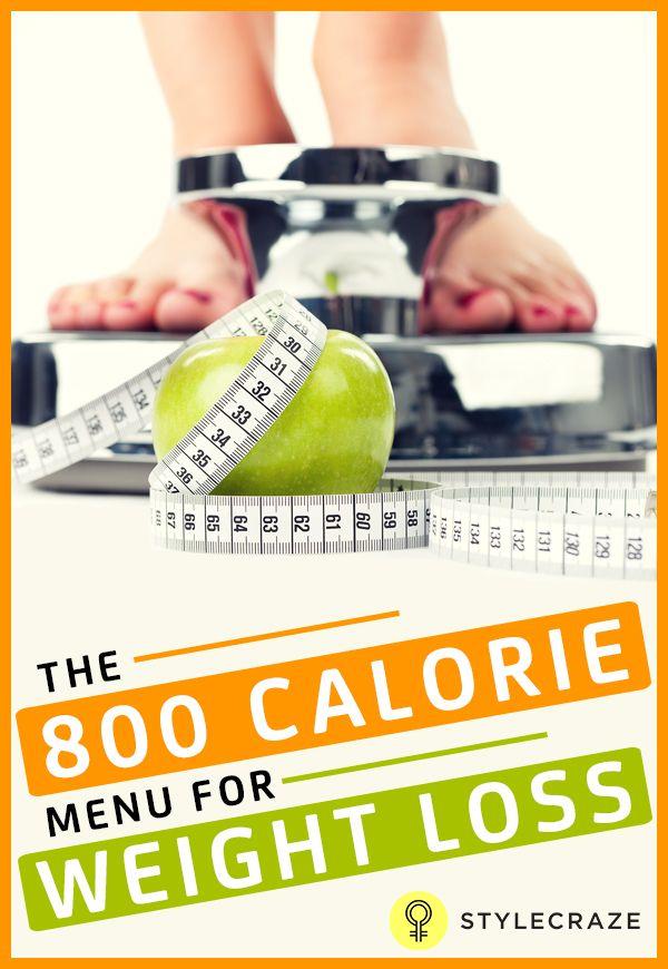 Der 800-Kalorien-Diät-Plan für die Gewichtsabnahme