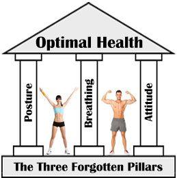 Die drei Säulen vergessen der optimalen Gesundheit