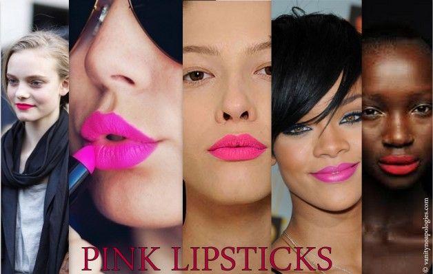 Top 10 rosa Lippenstifte für alle Hauttöne