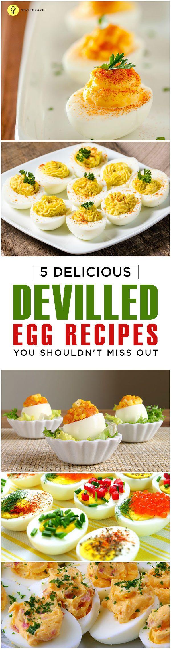 Top 5 deviled Ei Rezepte heute ausprobieren