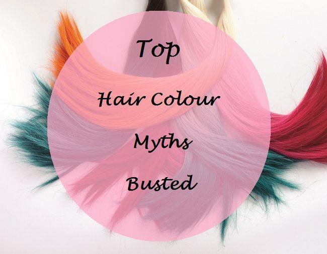 Top 5 der Haarfarbe Mythen gesprengt: Fakten vs Mythen