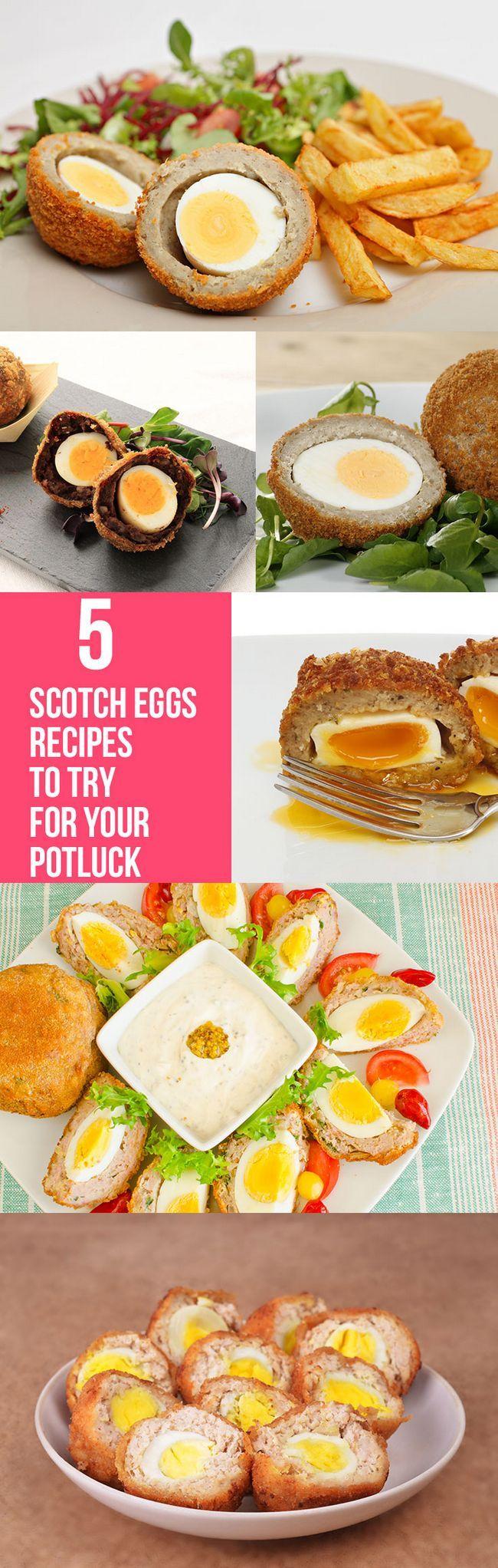Top 5 Scotch Egg Rezepte für Ihre potluck versuchen