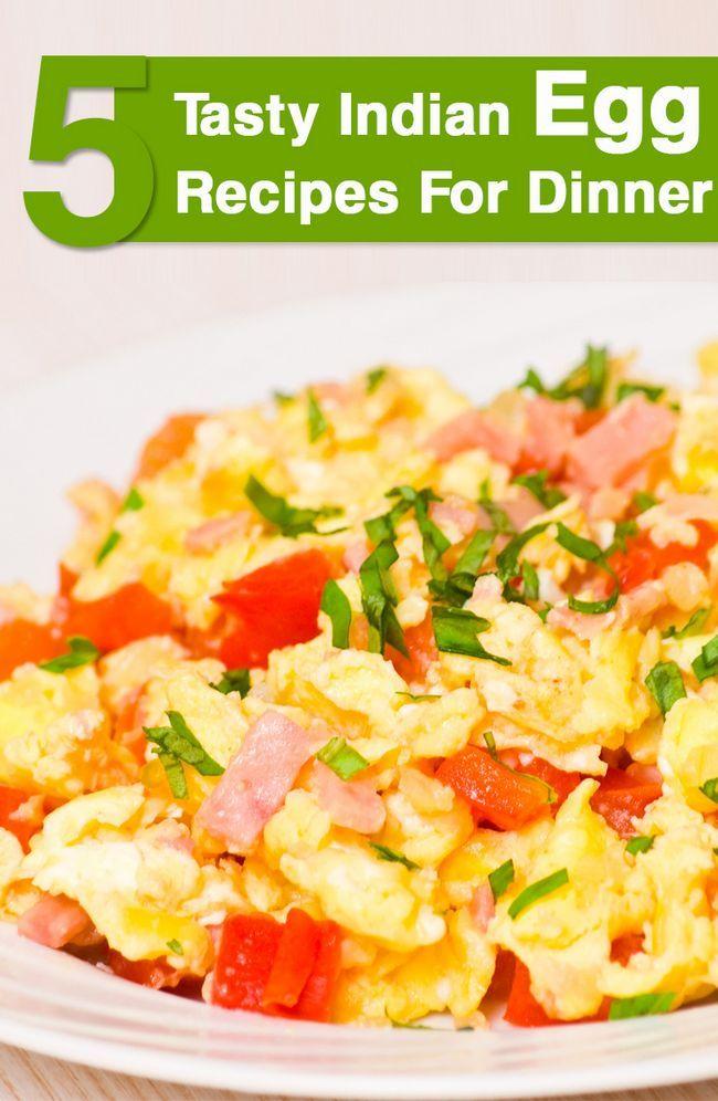 Top 5 leckere indische Ei Rezepte für das Abendessen