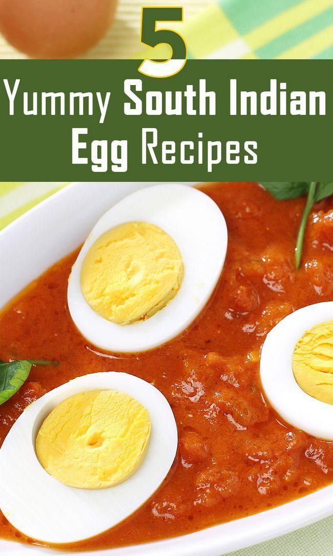 Top 5 yummy südindische Ei Rezepte ausprobieren