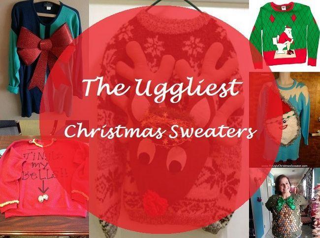 Top 7 hässliche Pullover für Weihnachten: werfen Sie einen Pullover Thema-Partei!