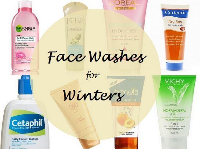 Top 8 Gesicht zu waschen für trockene Haut im Winter in Indien