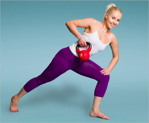 Top 8 Kettle Übungen für Frauen