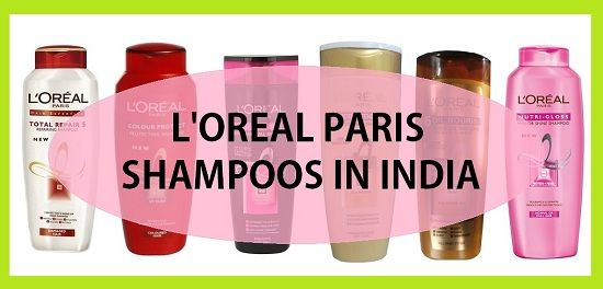 Top l`Oreal Paris Shampoos in Indien