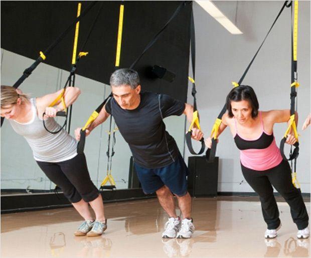 Trx Kern Übungen für Anfänger