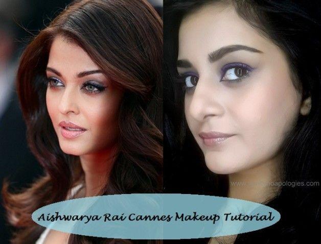 Tutorial: Aishwarya Rai cannes 2014 inspirierte Make-up Look