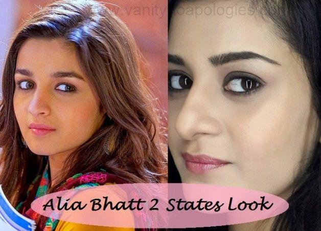 Tutorial: alia bhatt 2 Staaten inspiriert Make-up Look für College-Mädchen