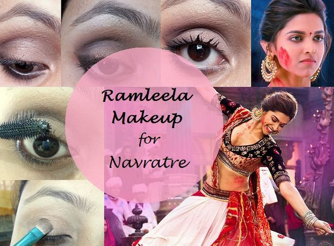 Tutorial: wie deepika padukone ram leela Make-up sucht navratri