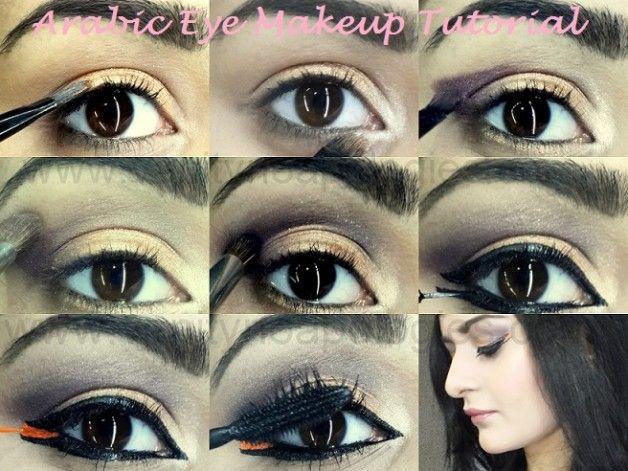 Tutorial: wie fett arabische Augen Make-up Look zu tun