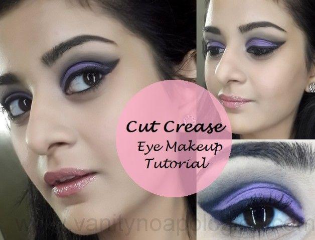 Tutorial: wie leicht Falte Augen Make-up Look für clubbing geschnitten