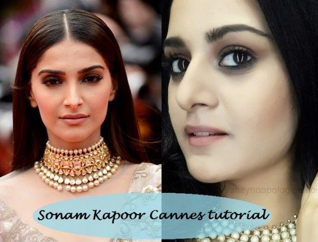 Tutorial: sonam kapoor cannes 2014 inspirierte Make-up Look
