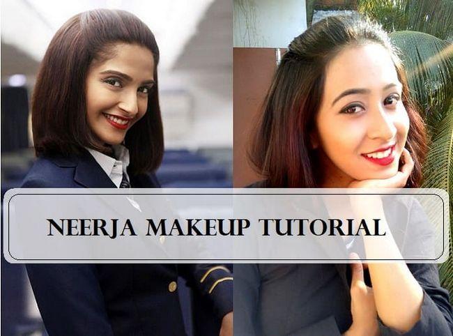 Tutorial: sonam kapoor Neerja Film inspiriert Make-up Look