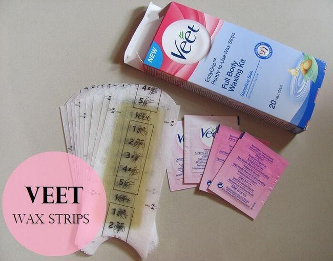 Veet bereit Wachsstreifen Ganzkörper-Waxing Kit verwenden: Überprüfung, Demo