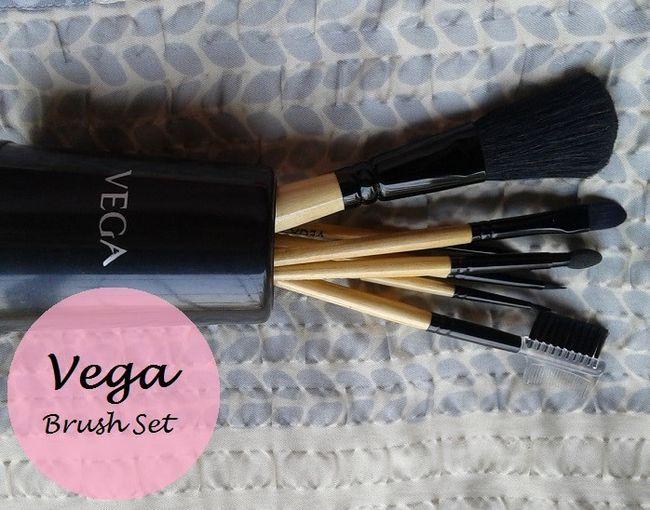Vega Make-up Pinsel-Set von 7 Bürsten: Bewertung und Preis