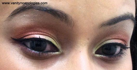 Vna l`Oreal Paris Sommer Augen Make-up contest entry 9 - Sonnenuntergang im Orient
