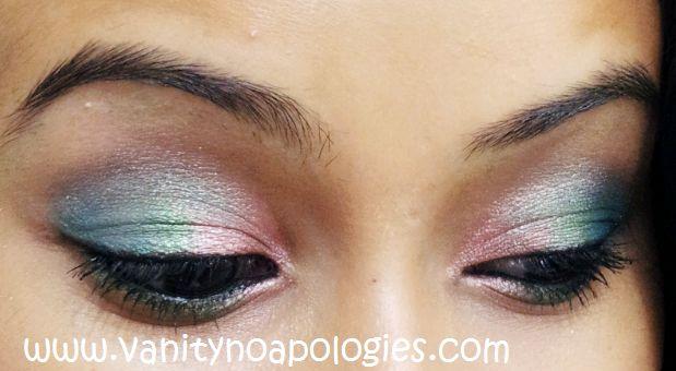 Vna l`Oreal Paris Sommer Augen Make-up contest entry 1 - Zuckerwatte Augen