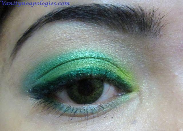 Vna l`Oreal Paris Sommer Augen Make-up contest entry 5 - Seegrüns