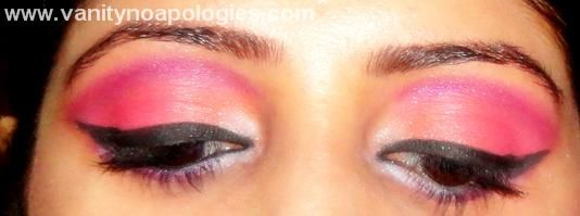 Vna l`Oreal Paris Sommer Augen Make-up contest entry 8 - Korallen lila splash