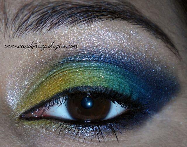 Vna l`Oreal Paris Sommer Augen Make-up contest entry 10 - blau hawaii