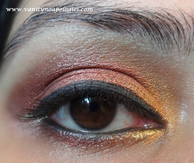 Vna l`Oreal Paris Sommer Augen Make-up contest entry 4 - Sommer Sonnenuntergang