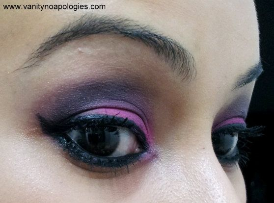 Vna l`Oreal Paris Sommer Augen Make-up contest entry 13 - eine Studie in fuschia