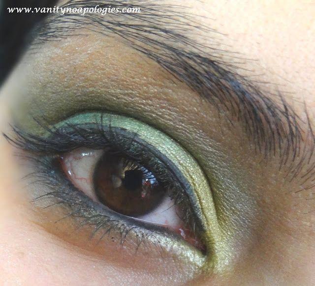 Vna l`Oreal Paris Sommer Auge Eintritt Make-up-Wettbewerb 2 - Sommer Blatt