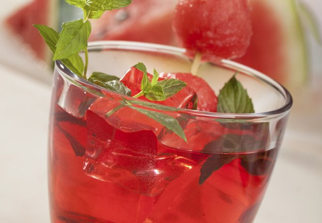 Wassermelone Saft Hilfen Muskelerholung