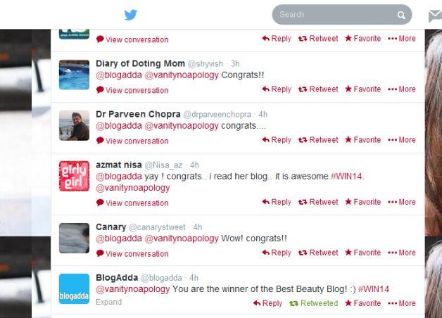 Wir sind das beste Beauty-Blog in Indien!