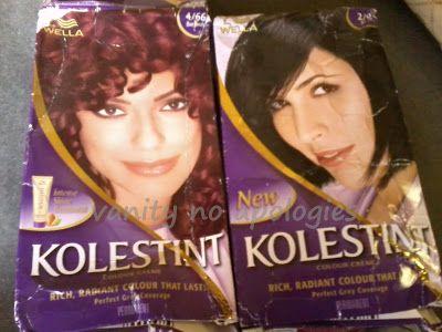 Wella kolestint Haarfarbe Creme Bewertung - (Burgunder)