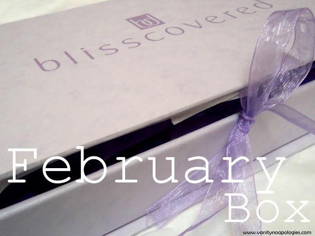 Was ist in meinem Februar 2012 blisscovered Box? Kommentieren und Fotos
