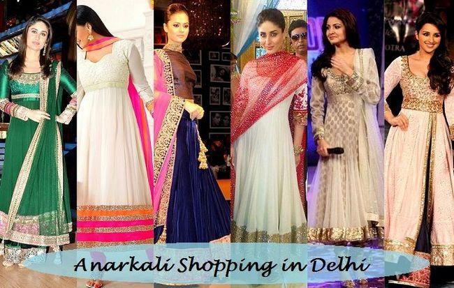 8 Beste Geschäfte zum Einkaufen: Wo Anarkali Anzüge in Delhi kaufen