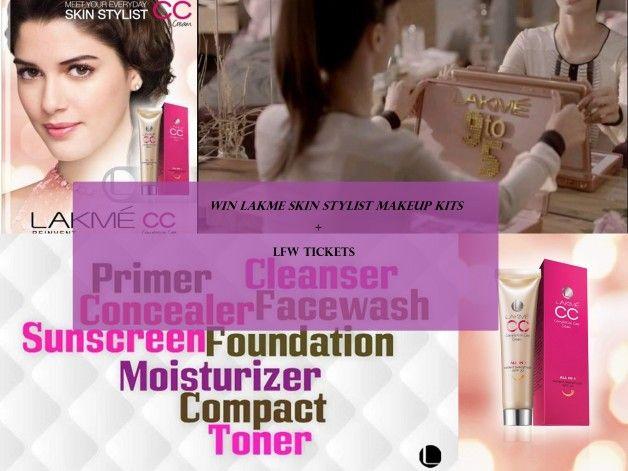 Gewinnen Sie lakme Stylistin Make-up-Kit und LFW 13 Tickets: Wettbewerb Alarm !!