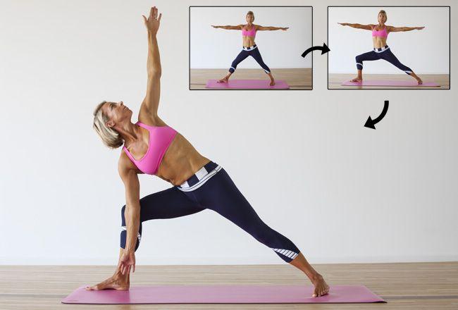Yoga in Verbindung mit dem Fettabbau